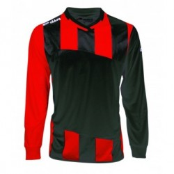 Maillot MONDIAL Rayure rouge et noir