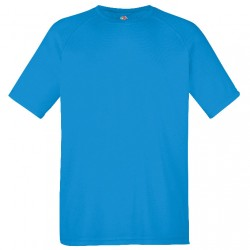 Tee-shirt performance homme bleu