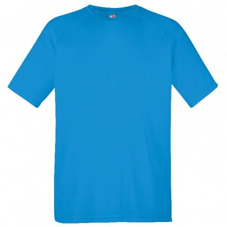 Tee-shirt performance homme bleu