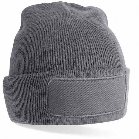 Bonnet personnalisé en tricot à bord relevé