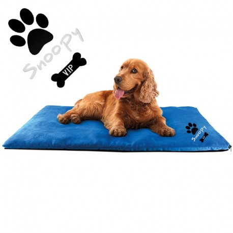 Personnalisation en broderie pour tapis animal de compagnie