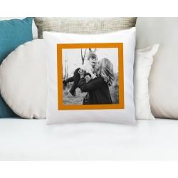 Housse de coussin personnalisé avec votre photo