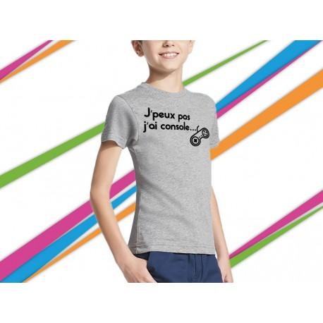 T-shirt garçon phrase