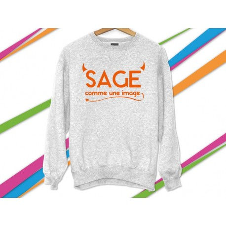 Sweat-shirt enfant phrase