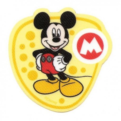 Ecusson imprimé thermocollant Mickey