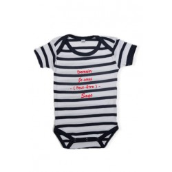Body manche courte collection Marine