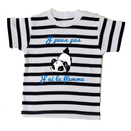 Tee-shirt Bébé Collection Marine panda